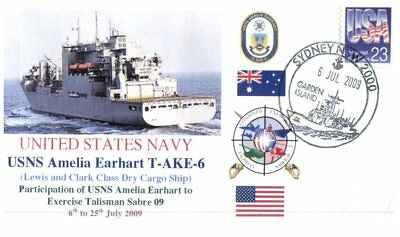(C1) Naval cover - USS A. Earhart T-AKE-6 to Exercise Talisman Sabre 09