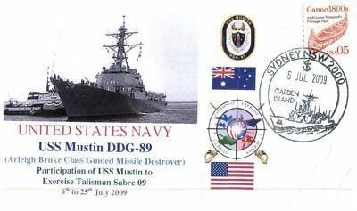 (C1) Naval cover - USS Mustin DDG 89 to Exercise Talisman Sabre 09