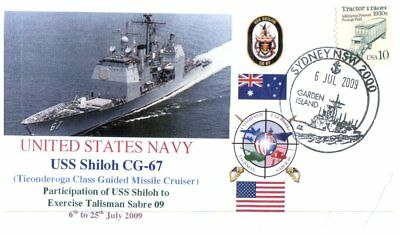 (C1) Naval cover - USS Shiloh CG 67 to Exercise Talisman Sabre 09
