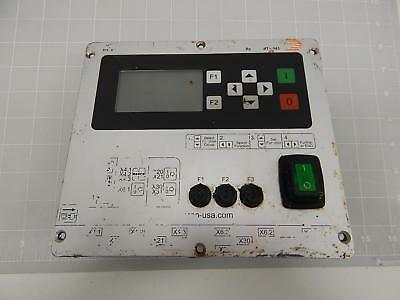 REO MTS443 Thyristor Controller for Vibratory Feeder Front Panel T60407