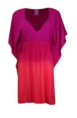 27668c27dc1e7 Becca by Rebecca Virtue Women s Tunic Swim Cover Up XS S