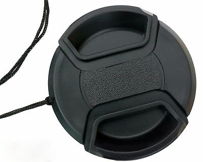 on Snap Center 52mm cover cap Canon Lens for EF EOS Front