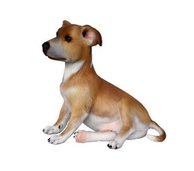 Whippet Dog Puppy Statue 2 Animal Theme Decor Display Prop