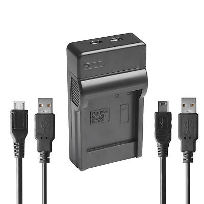 USB Travel Battery Charger For Canon LP-E5 EOS 450D 500D 1000D T1i XS Xsi X2 X3