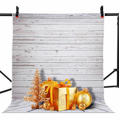 Photography 5x7ft Wall Floor Screen Wood Vinyl Background Backdrop Light Studio