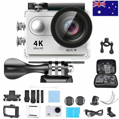 Waterproof UltraHD 4K 1080P WiFi DV Action Sports Video Camera Camcorder F.Gopro