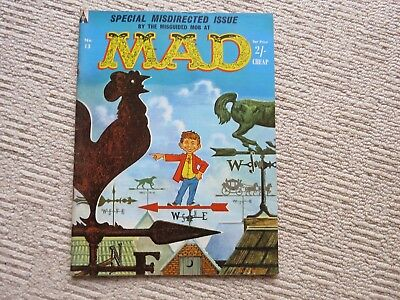 MAD MAGAZINE ISSUE 13, 1960s