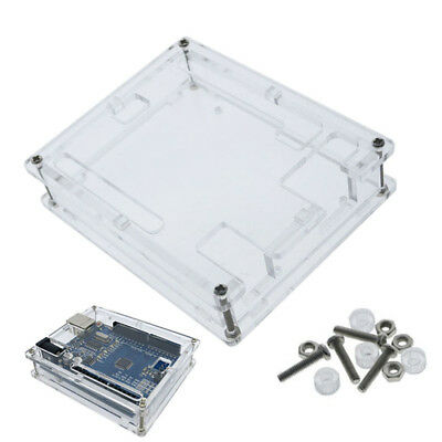 Acrylic Box Enclosure Transparent Case for Arduino MEGA2560 UNO R3
