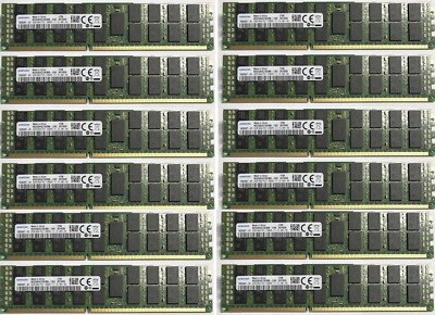 12x 32GB 384GB DDR3 1600Mhz ECC RDIMM Ram f. HP Proliant DL160 G6 PC3-12800R