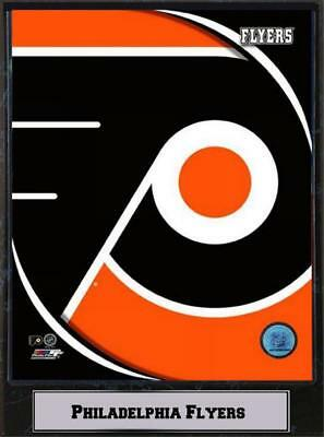 Philadelphia Flyers Logo Wood Wall Picture 30 cm, Plaque NHL Ice Hockey, New