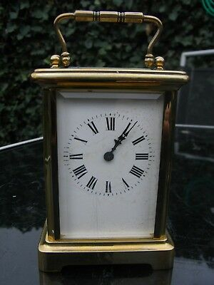 French Brass Cased Carriage Clock // R & Co