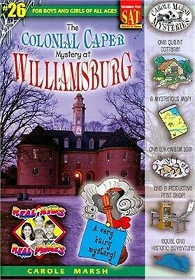 The Colonial Caper Mystery at Williamsburg (Paperback or Softback)