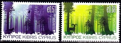 EUROPA CEPT - 2011 - Cyprus - (The Forests) ** MNH