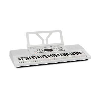Keyboard E-Piano 61 Tasten 50 Songs Display 300 Rhythmen Einsteiger Lernfunktion