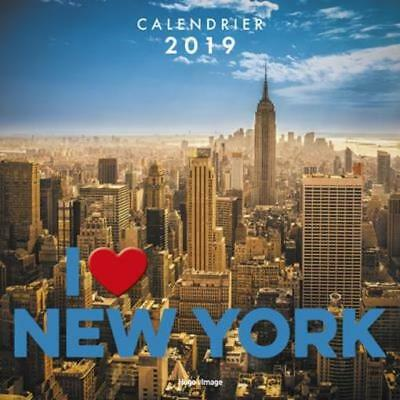 calendrier mural New York (édition 2019) Collectif Neuf Livre