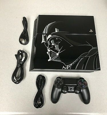 Sony PlayStation 4 Star Wars Battlefront Limited Edition 500GB Vader PS4 Console