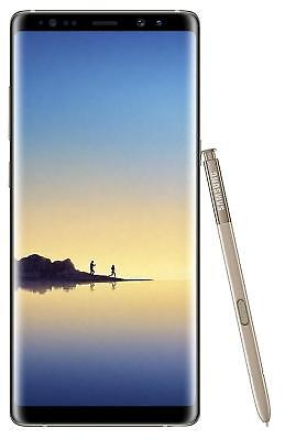 Samsung Galaxy Note 8 64GB Smartphone Maple Gold Google Android 6GB RAM
