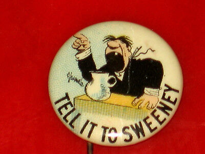 Vintage 1890'S Funnies, Hassan Cigarette Advertising Pin Pinback Button Badge