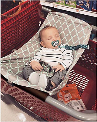 Baby Shopping Cart Hammock, Cart Cover for Newborn,Toddler and Twins, Grey