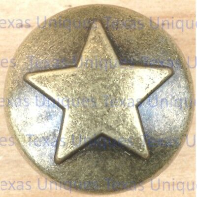 lot of 10 Western Decorative Star Upholstery Tacks /& Nails TPR1425-ORB
