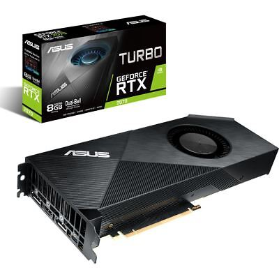 8GB ASUS GeForce RTX 2070 TURBO 8G 3xDP/H