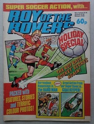 Roy of the Rovers Holiday Special comic c1984 Incomplete (phil-comics)