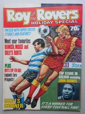 Roy of the Rovers Holiday Special comic 1988 VFN- (phil-comics)