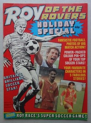Roy of the Rovers Holiday Special comic c1985 Ian Rush VFN- (phil-comics)