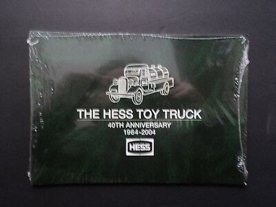 40th Anniversary Hess Toy Truck Collectors Book Factory Sealed 1964 -2004