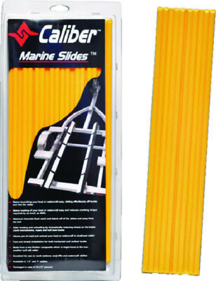 """Boat Marine Trailer Bunk Slide 3"""" X 15"""" Yellow Pack of 10 Launch Launch Easy"""