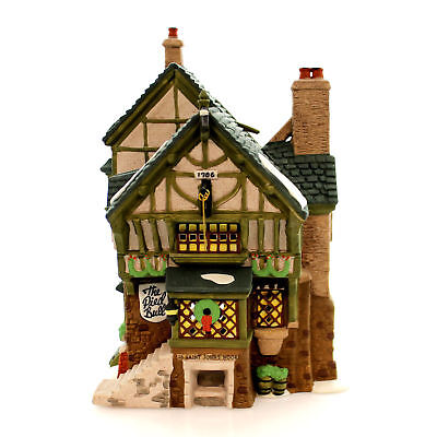 Dept 56 Dickens Village - Pied Bull Inn 57517 Retired In Box Mint