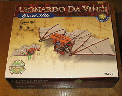 EDU-TOYS Leonardo Da Vinci Great Kite Model Kit NEW