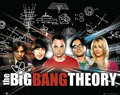 THE BIG BANG THEORY POSTER Amazing Cast RARE HOT NEW 24x36