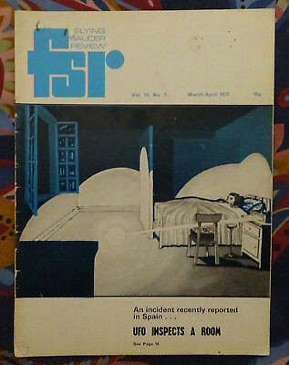 FLYING SAUCER REVIEW MAGAZINE Vol 19 No.2 1973 Mini UFO Inspects Room FSR Aliens