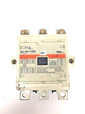 FUJI Electric MAGNETIC CONTACTOR - SC-N7 (152) - Used