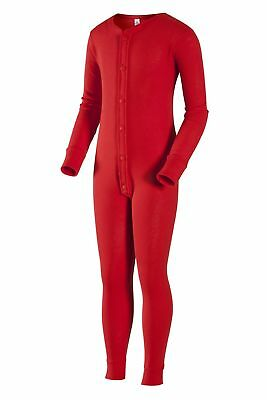 Indera Youth Unionsuit - Red Youth M