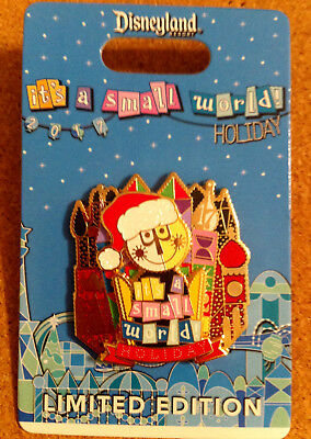Disney DLR 2017 It's A Small World Holiday LE 3000 Pin NOC