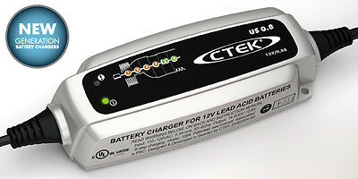 12 Volt Motorcycle Battery Trickle/Maintenance Charger for BMW & Harley Davidson