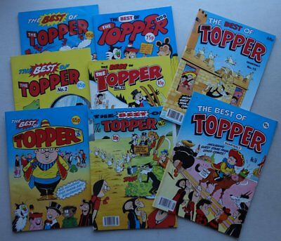 Topper Comic: The Best Of #1-16 (1988-1992) x 8 Most VG to FN (phil-comics)
