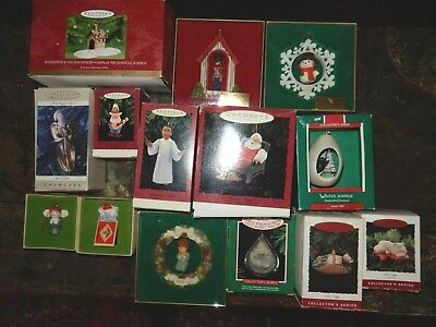 Lot of 24 Hallmark Ornaments Series Mary's Angels Cat Naps Crayon w/Boxes