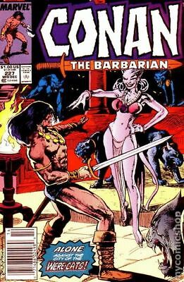 Conan the Barbarian (Marvel) #227 1989 FN Stock Image