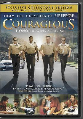 Courageous (DVD, 2012, Exclusie Collector's Edition)  ***Brand NEW!!***