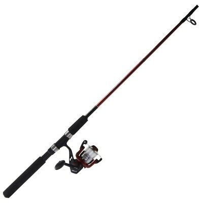 6ft Shakespeare 2-4kg Pro Touch Fishing Rod and Reel Combo Spooled with Line