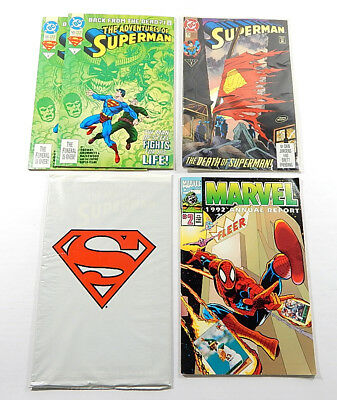 Lot of (5) Misc Comic Books ^ 1992 Marvel Annual Report Superman #500 75 11