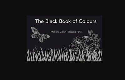 NEW The Black Book of Colours  By Cottin Menena Hardcover Free Shipping