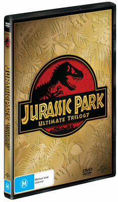 NEW Jurassic Park Ultimate Trilogy DVD Free Shipping