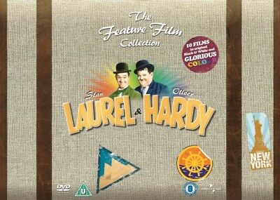 NEW Laurel & Hardy - The Feature Film Collection (34 Films) DVD