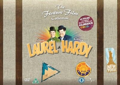Neu Laurel & Hardy - The Feature Film Collection (34 Films) DVD