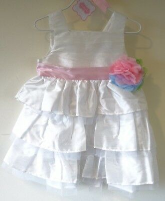 40a135cb4 MUD PIE IVORY Party Wedding Birthday Flower Dress Available Size 12 ...