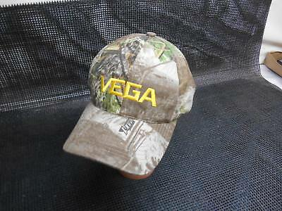 Old Vtg VEGA MAX-1 MEN'S CAMO Hunting TRUCKERS HAT CAP Advertising
